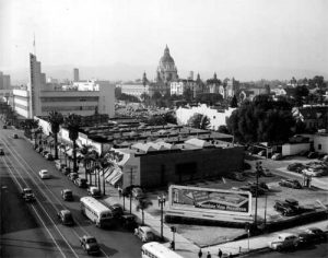 Image of Downtown Pasadena, CA in 1945